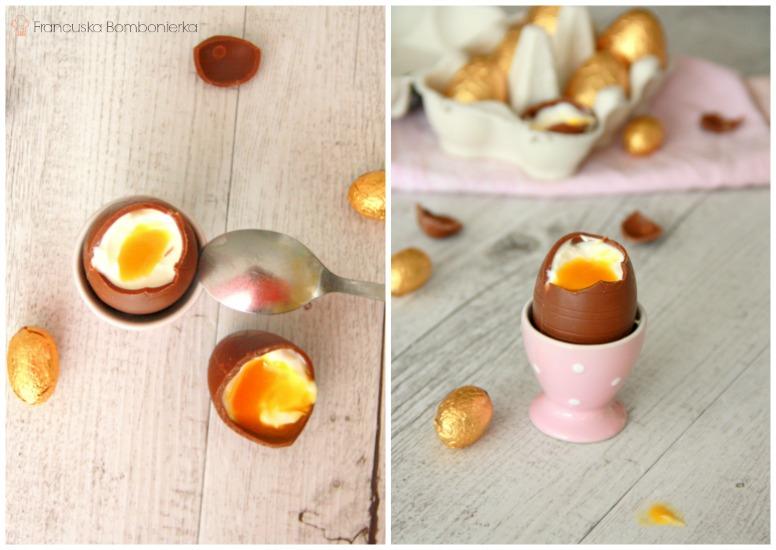 czekoladowe jajka nawielkanoc dla dzieci